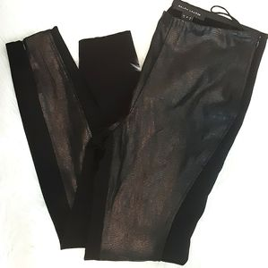Ralph Lauren Black Label genuine leather pants.